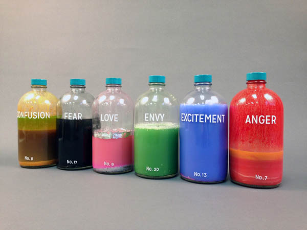 """Bottled Emotions,"" a conceptual art project by UTC alumna Taylor Kinser"