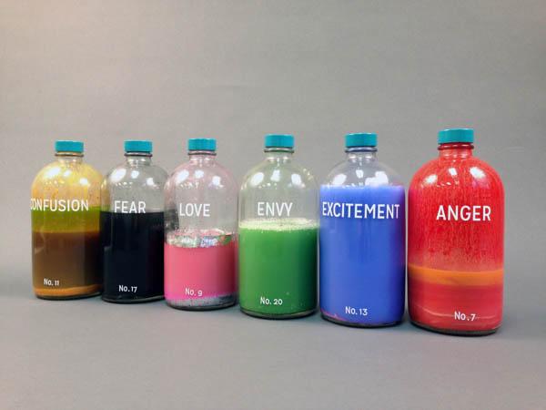 """Bottled Emotions,"" a conceptual art project by UTC alumna Taylor Kinser"