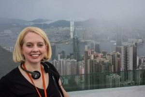 Melissa Bogle in Hong Kong