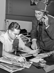 WDOD Radio 1940s Picture