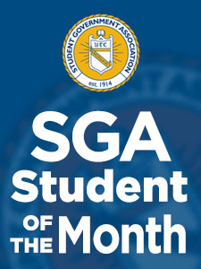 Two students honored by SGA