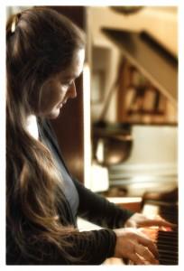 Martha Playing Piano