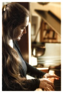 Martha Playing Piano