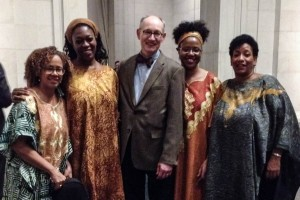 Dr. Jonathan McNair and Marian Anderson String Quartet