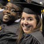 UTC Students at Graduation