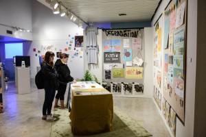 Senior Art Exhibit at Cress Gallery