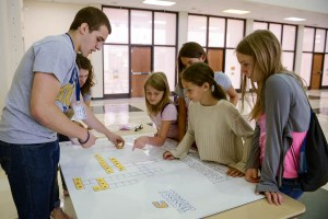 Young Students Participating in College Knowledge Now