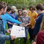 Outdoor leadership class