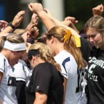 UTC Softball in Huddle