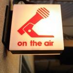 WUTC On-Air Sign