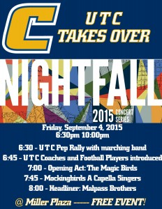 UTC takes over Nightfall on September 4