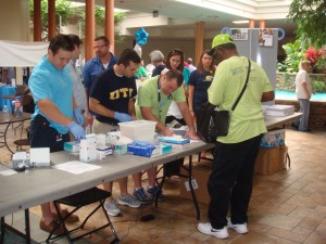 UTC students provide free health screenings at Minority Health Fair