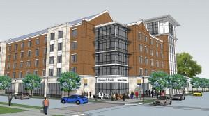 UTC new housing rendering