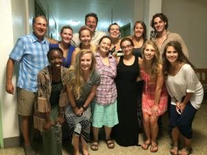 UTC Nursing Students pre-Haiti Trip