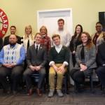 Group photo at UTC Mock Debate