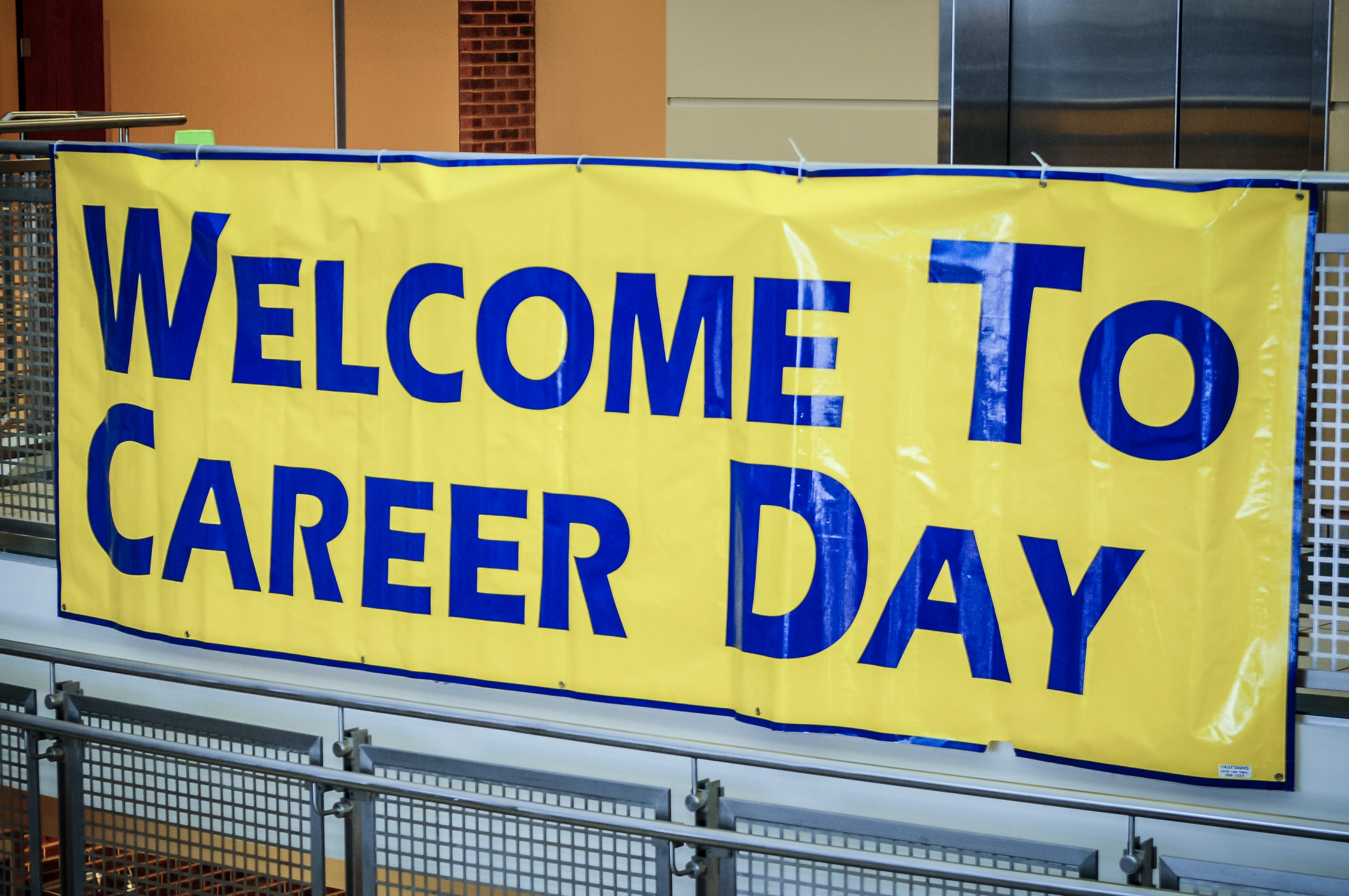 """""""Welcome to Career Day"""" Banner"""