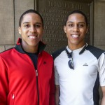 Jeremy and Jermaine Hogstrom, twin brothers who graduated from UTC in 2015