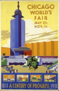 Pursell's 1933 Chicago World's Fair Poster