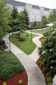 Students participating in The Nest LLC live in Walker apartments, a part of UTC's South Campus