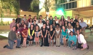 Group photo of the 32 Brock Scholars and Innovations Scholars