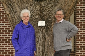 Arbor Day celebrates Professor Collins's preservation of University's natural heritage