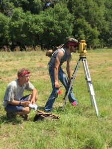 Surveying with Total Station