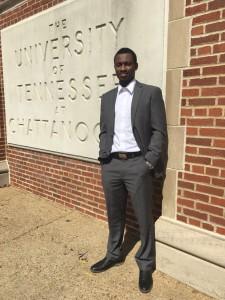 Oluwatosin Ayotunde, recent UTC graduate.