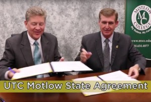 UTC extends Dual Admissions Agreement to Motlow State