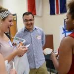Students engaging at a Fair at UTC