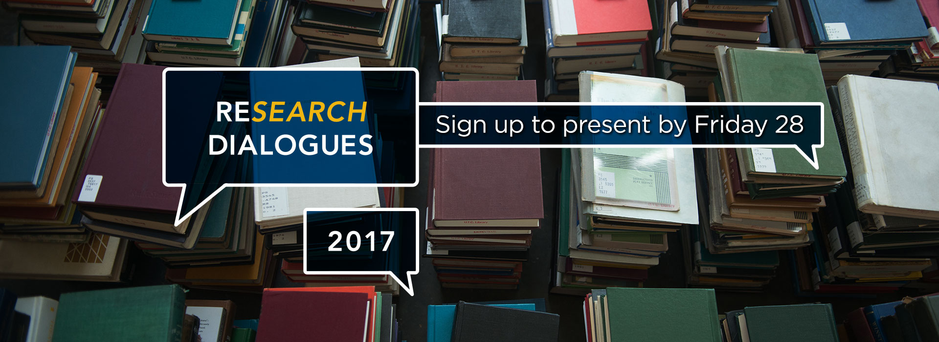 reSEARCH Dialogues 2017 sign up by February 28