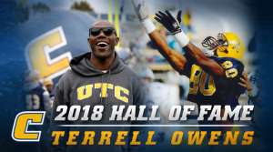 Former Moc Terrell Owens inducted into Pro Football Hall of Fame