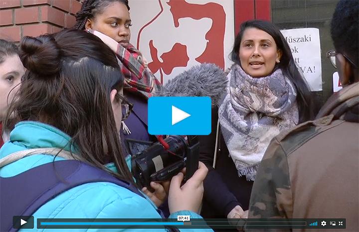 click through to view Vimeo video album containing student documentaries