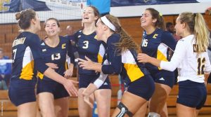 Volleyball team earns national recognition for academic excellence