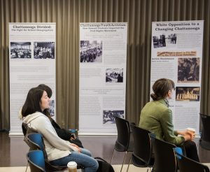 Student exhibition examines Chattanooga's role in the civil rights movement
