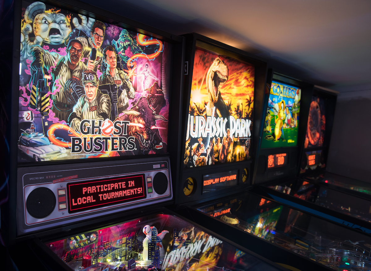 Finding, fixing and playing: All for the love of pinball