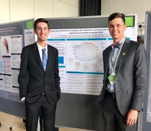 Rare opportunity: 2 students first from UTC at international conference