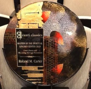 UTC Professor Emeritus Roland Carter earns international award