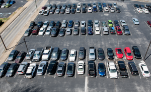 On-campus construction results in parking changes