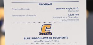 Eight selected as Blue Ribbon Award winners