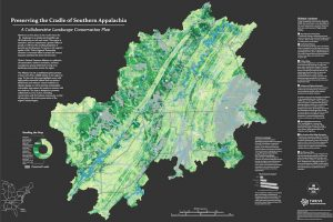 Map stakes out regional areas needing the most environmental protection