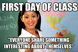first day of class